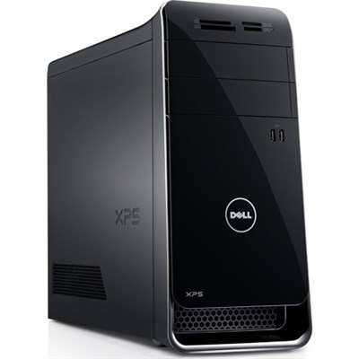 x8900-631BLK XPS 8900 Desktop Computer Intel Core i5-6400 2.70GHz Mini-Tower