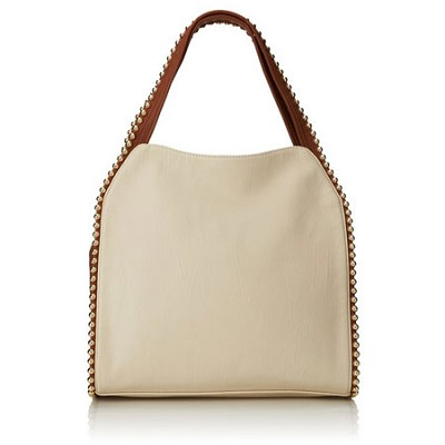 Grayson Shoulder Bag - Bone
