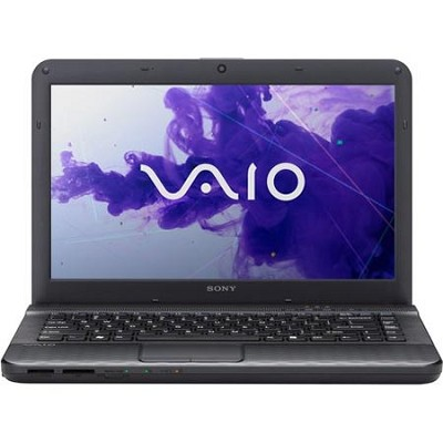 VAIO VPCEG33FX/B 14.0` Notebook PC -  Intel Core i3-2350M Processor