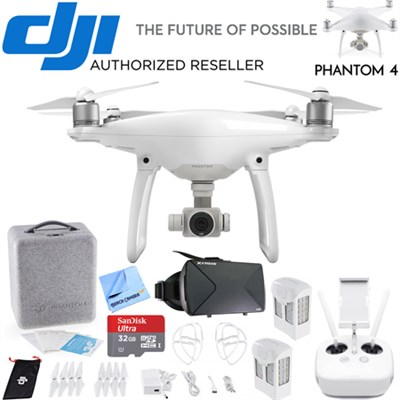 Phantom 4 Advanced Quadcopter Drone FPV Virtual Reality Experience