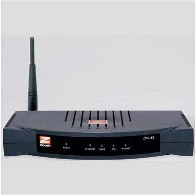 X6 ADSL modem/router with wireless-G, 4-port switch and firewall