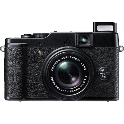 X10 12 MP EXR CMOS Digital Camera with f2.0-f2.8 4x Optical Zoom Lens OPEN BOX
