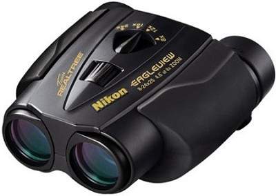 Eagleview 8-24x25 Binoculars (Black)