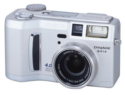 Dimage S414 Digital Camera