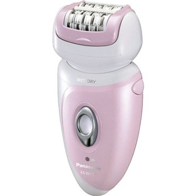 Women's Wet/Dry Washable Pink Epilator