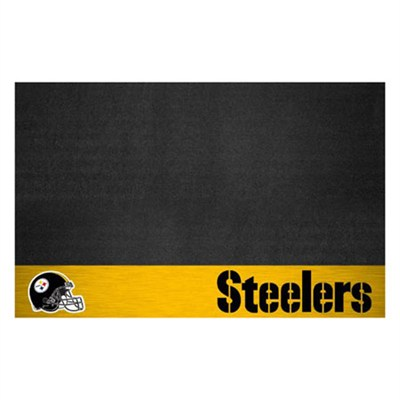 NFL Pittsburgh Steelers Vinyl Heavy Duty Grill Mat