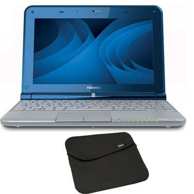 Mini 10.1` NB305-N600 Netbook PC with Intel N550 Dual Core Processor with Sleeve