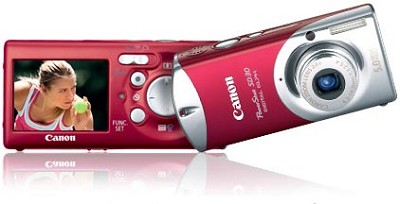 Powershot SD30 Digital ELPH Camera (Rockstar Red)