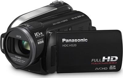 HDC-HS20K - Hi-Definition 80GB HDD / SD card Camcorder (Black)
