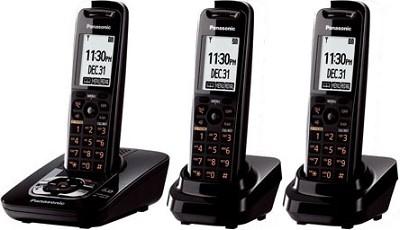 KX-TG7433B DECT 6.0 Expandable Digital Cordless Phone System