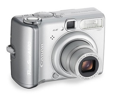 Powershot A520 Digital Camera