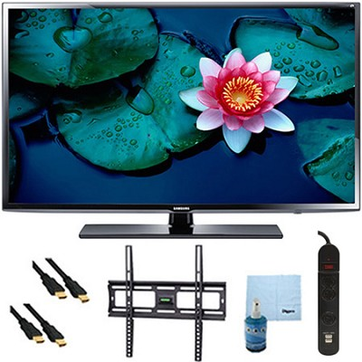 UN40H5203 - 40` Full HD 60Hz 1080p Smart TV Plus Mount & Hook-Up Bundle