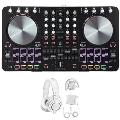 BEATMIX4 Track Controller Bundled with Serato DJ w/ Studio Headphone