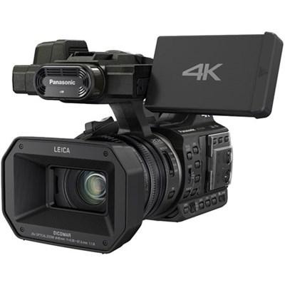 HC-X1000 4K 24p Cinema 60p Black Video Camcorder - OPEN BOX