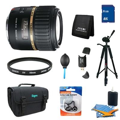 SP AF60mm F2 Di II LD (IF) 1:1 Macro Lens Pro Kit For Nikon AF