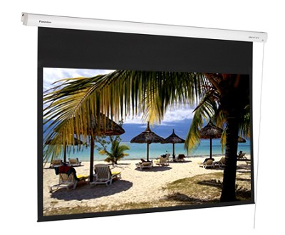 DE-GWII9092E - 92 inch Professional Motorized Gray Screen