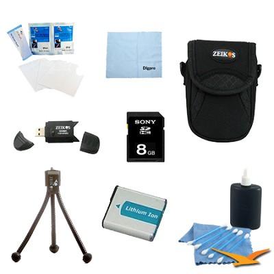 Loaded Accessory Kit for the Sony Cyber-shot DSC-HX50V, DSC-HX300, DSC-RX1,