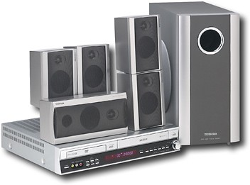 SD-V55HT - Home Theater DVD/VHS System, ColorStream Pro Progressive Scan