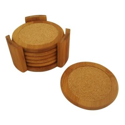 6 Piece Coaster Set with Holder CS01065