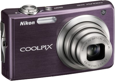 COOLPIX S630 Digital Camera (Royal Purple)