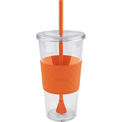 Eco First Tumbler 24 Ounce Togo Cup Mug - Orange (2510-9979)