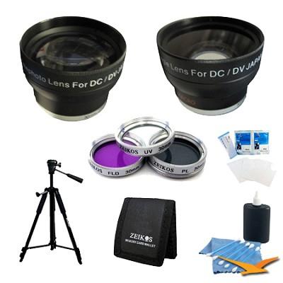 PRO 30mm lens kit for the Sony HDR CX580, PJ30 & PJ580