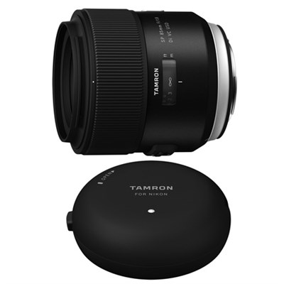 SP 85mm f1.8 Di VC USD Lens and TAP-In-Console for Sony Mount Cameras