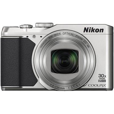 COOLPIX S9900 16MP HD 1080p 30x Opt Zoom Digital Camera - Silver