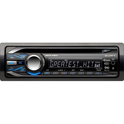CDX-GT340 CD Receiver MP3/WMA Player