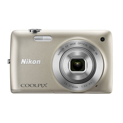 COOLPIX S4300 16MP 3-inch Touch Screen Digital Camera - Silver