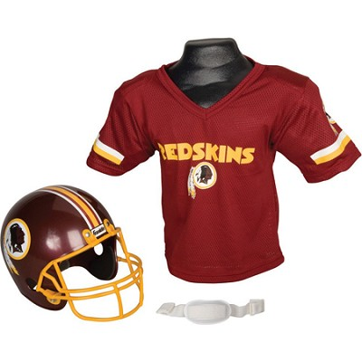 Youth NFL Washington Redskins Helmet and Jersey Set