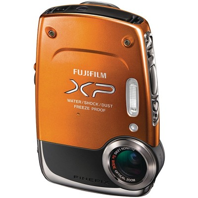 FinePix XP20 14 MP Underwater Digital Camera with 5x Optical Zoom (ORANGE)