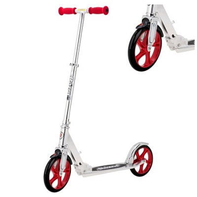 200mm Big Wheel Scooter Ages 8 and Up in Red