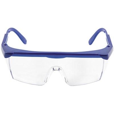 Protective Safety Glasses w/ Adjustable Frame (Blue) SGLASS-ADJ
