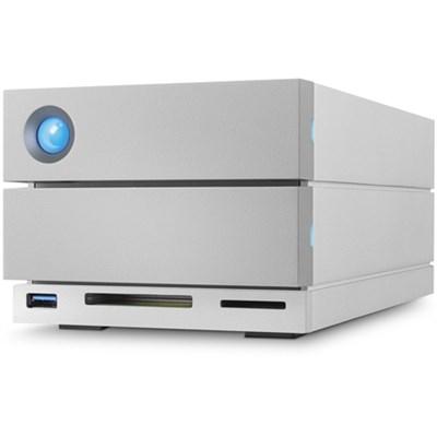 16TB 2big Dock Thunderbolt 3 + USB-C Desktop Grey Disk Array