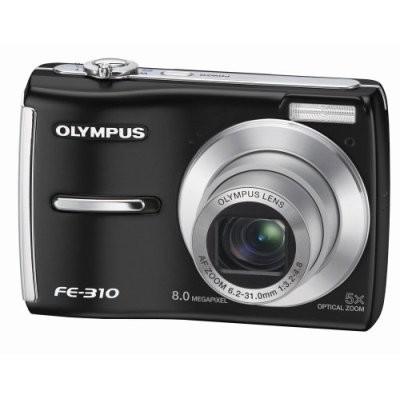 FE-310 8MP Digital Camera (Black)