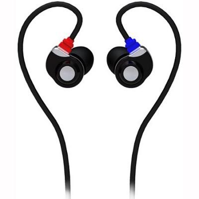 E30 - Noise Isolating In-Ear Monitor Earphones (Grey/Black)