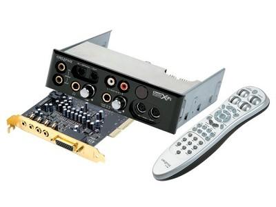 Sound Blaster X-Fi Platinum sound card