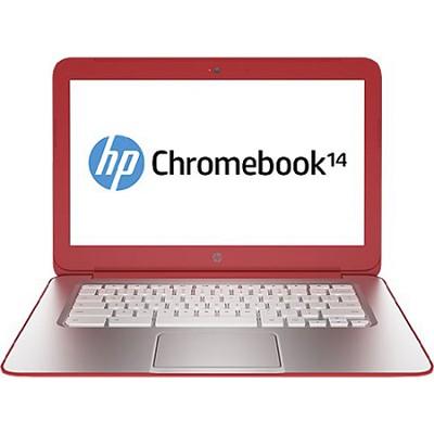 14.0` HD LED 14-q030nr Chromebook PC - Intel Celeron 2955U ProC. - OPEN BOX