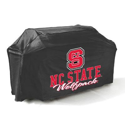 North Carolina State Grill Cover in Black - 07746NCSTGD