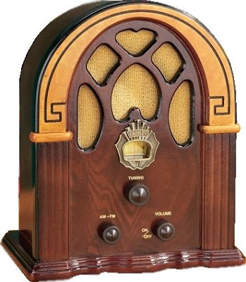 Companion Radio Walnut