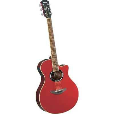 APX500II Thinline Cutaway Acoustic-Electric Guitar Red Metallic