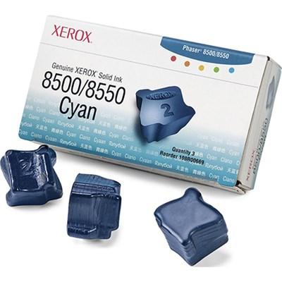 Solid Ink 8500/8550 Cyan (3 Sticks) - 108R00669