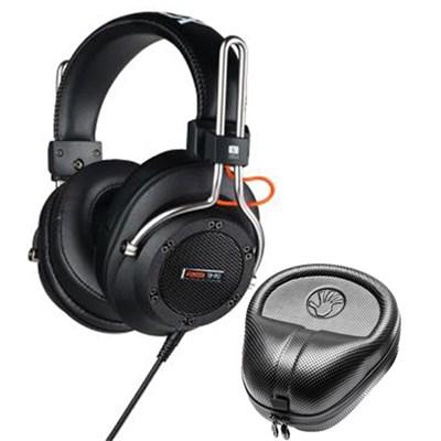 Semi-Open Professional Dynamic Headphones w/ Slappa HardBody Headphone Case