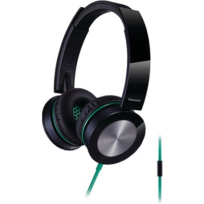 Sound Rush Plus On-Ear Headphones w/ Mobile Controller, Black