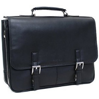 524975 - `A Brief History`  Portfolio/Computer Case Fit for Up To 15.4` Laptops