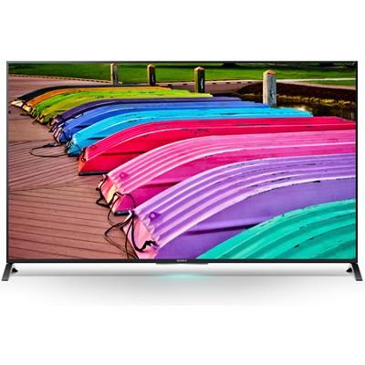 XBR65X850B - 65-Inch X850B 3D 4K Ultra HD Smart TV Motionflow XR 240 - OPEN BOX