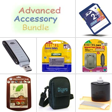 Platinum Accessory Kit for Coolpix S10