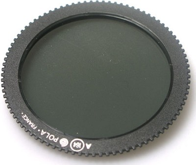Circular Polarizer Screw in Filter and case