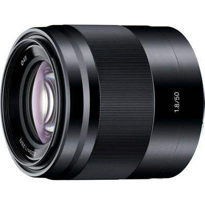 SEL50F18/B - 50mm f/1.8 Mid-Range Prime E-Mount Lens (Black) - OPEN BOX